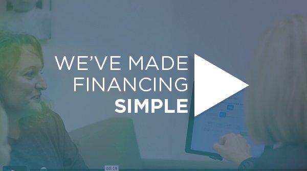 We've Made Financing Simple